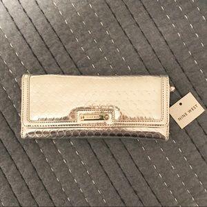 Nine West Silver Wallet